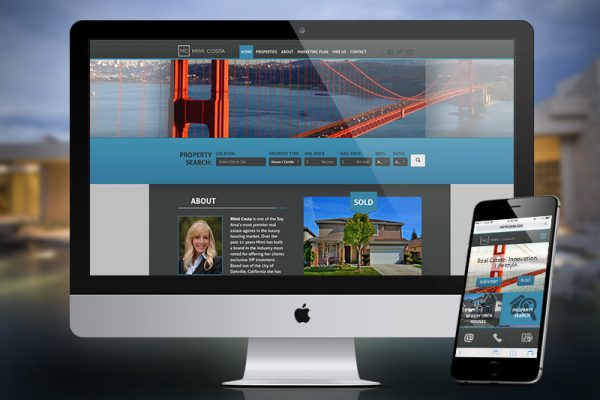 Mimi Costa Realty – Website Design