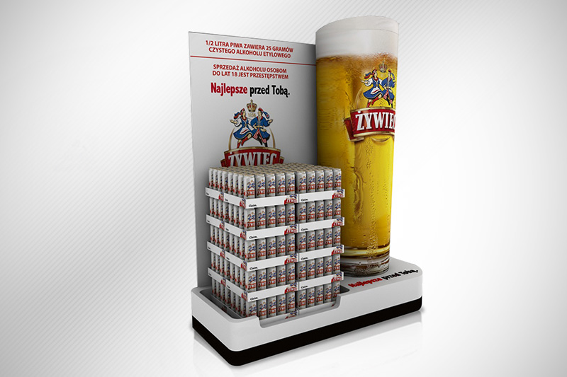 Zywiec Brewery – Pop Display